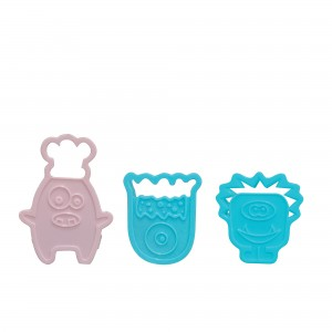 Cookie Cutter Monster - 3 Pcs