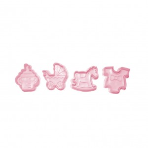 Set of Cookie Stamps - Girls