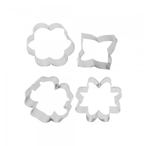 Ramadhan Raya Petal Cookie Cutter - Set of 4 pcs